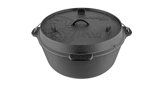 Petromax Feuertopf - Equipamiento para cocinas de camping - ft 12 negro